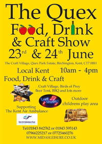 Poster for Quex Craft Fair